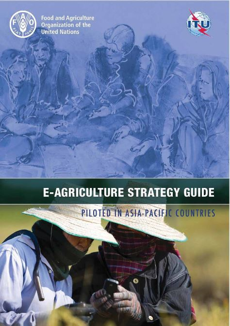 Cover page for E-Agriculture Strategy Guide