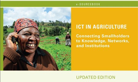 Cover page for ICT in Agriculture e-Sourcebook